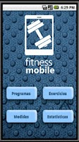Screenshot of Fitness Mobile