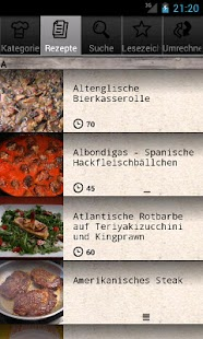 Grillrezepte- screenshot thumbnail
