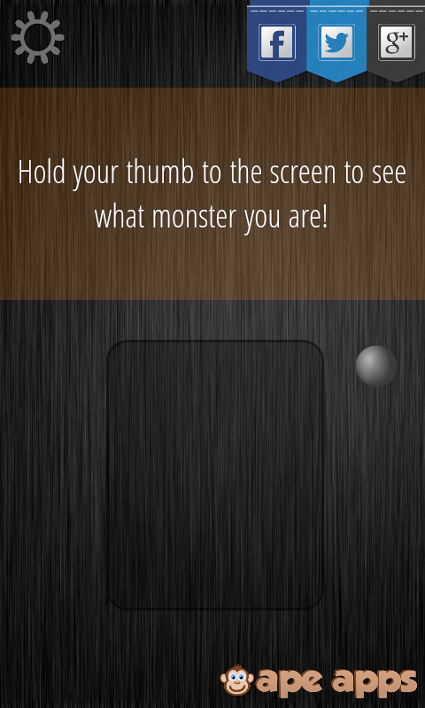 Monster Detector - screenshot