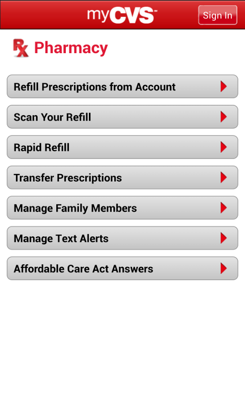 CVS/pharmacy - screenshot