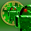 You clock widget Droid logo