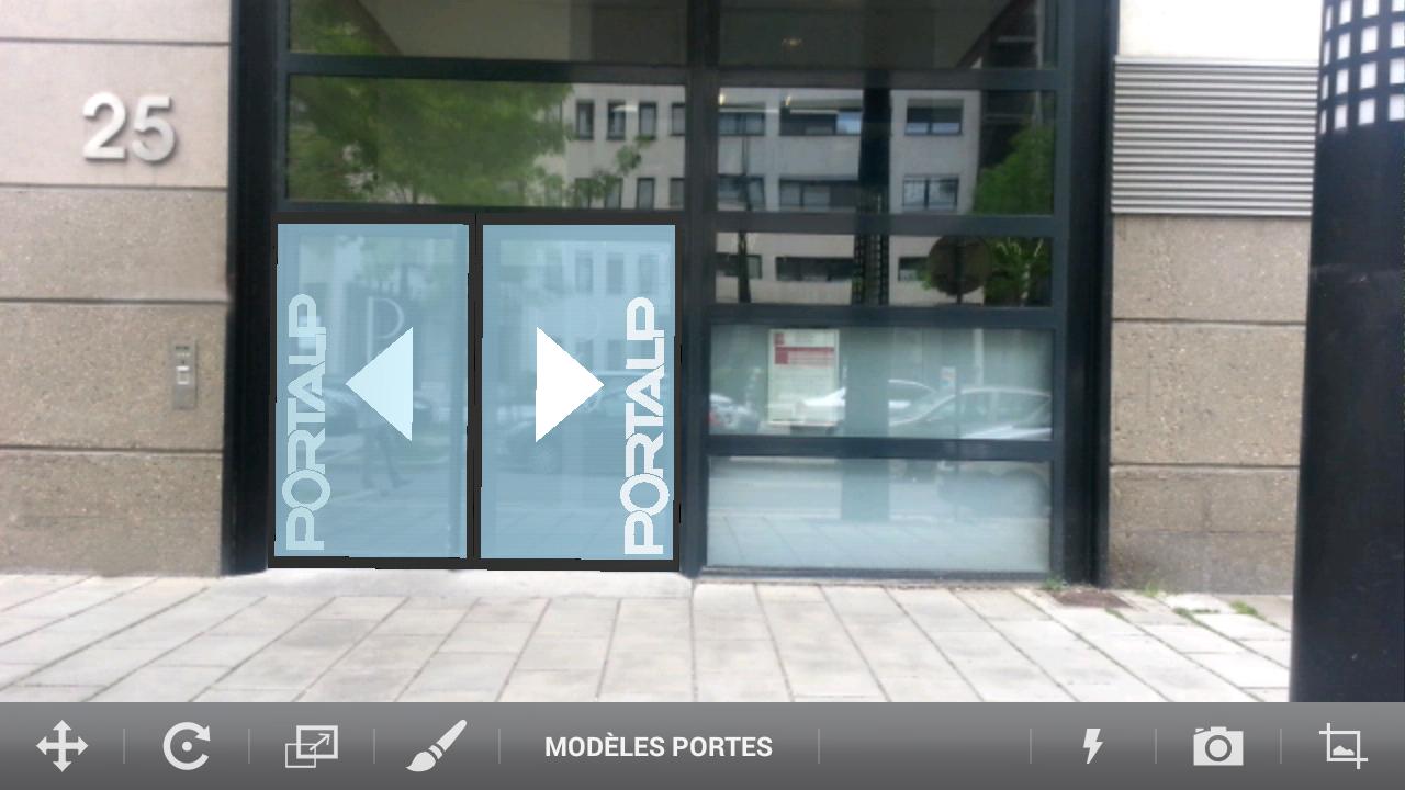 Portalp live applications android sur google play for Porte automatique