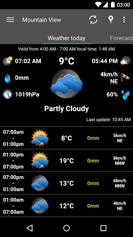 AmberHome Weather Plus- screenshot