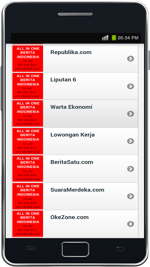 All In One Berita Indonesia- screenshot