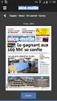 Screenshot of Nice-Matin Numérique