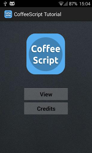 CoffeeScript Tutorial