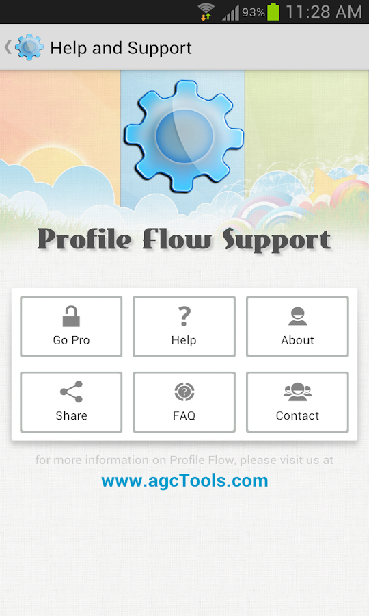 Profile Flow- screenshot