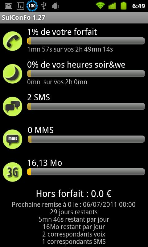 Pack SuiConFo Bouygues - screenshot