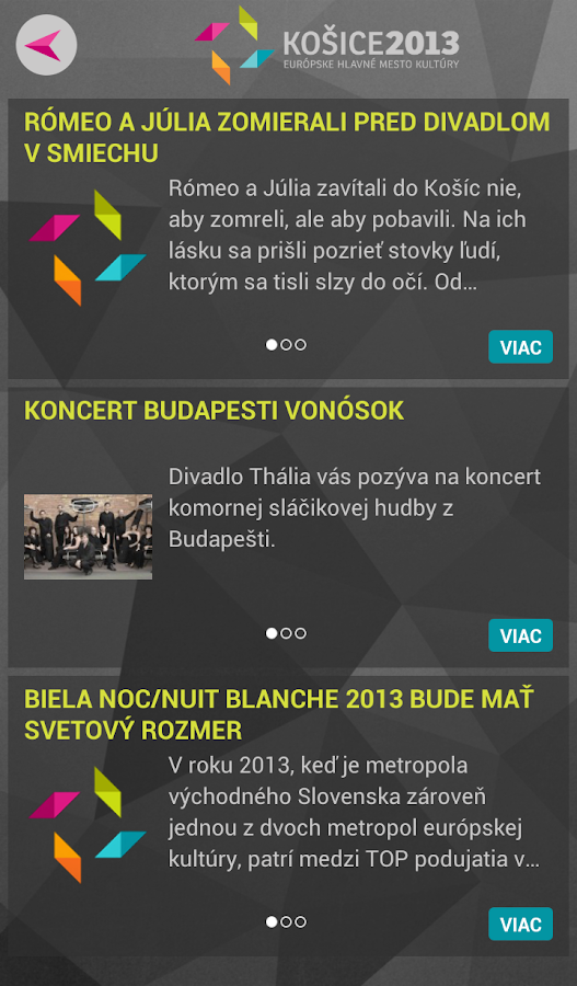 Kosice 2013- screenshot