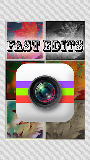 Fast Edits - Photo Editor FX