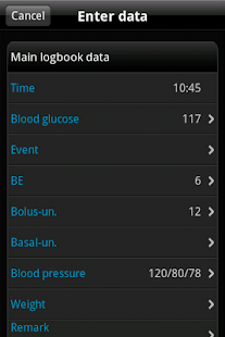 SiDiary Diabetes Management - screenshot thumbnail