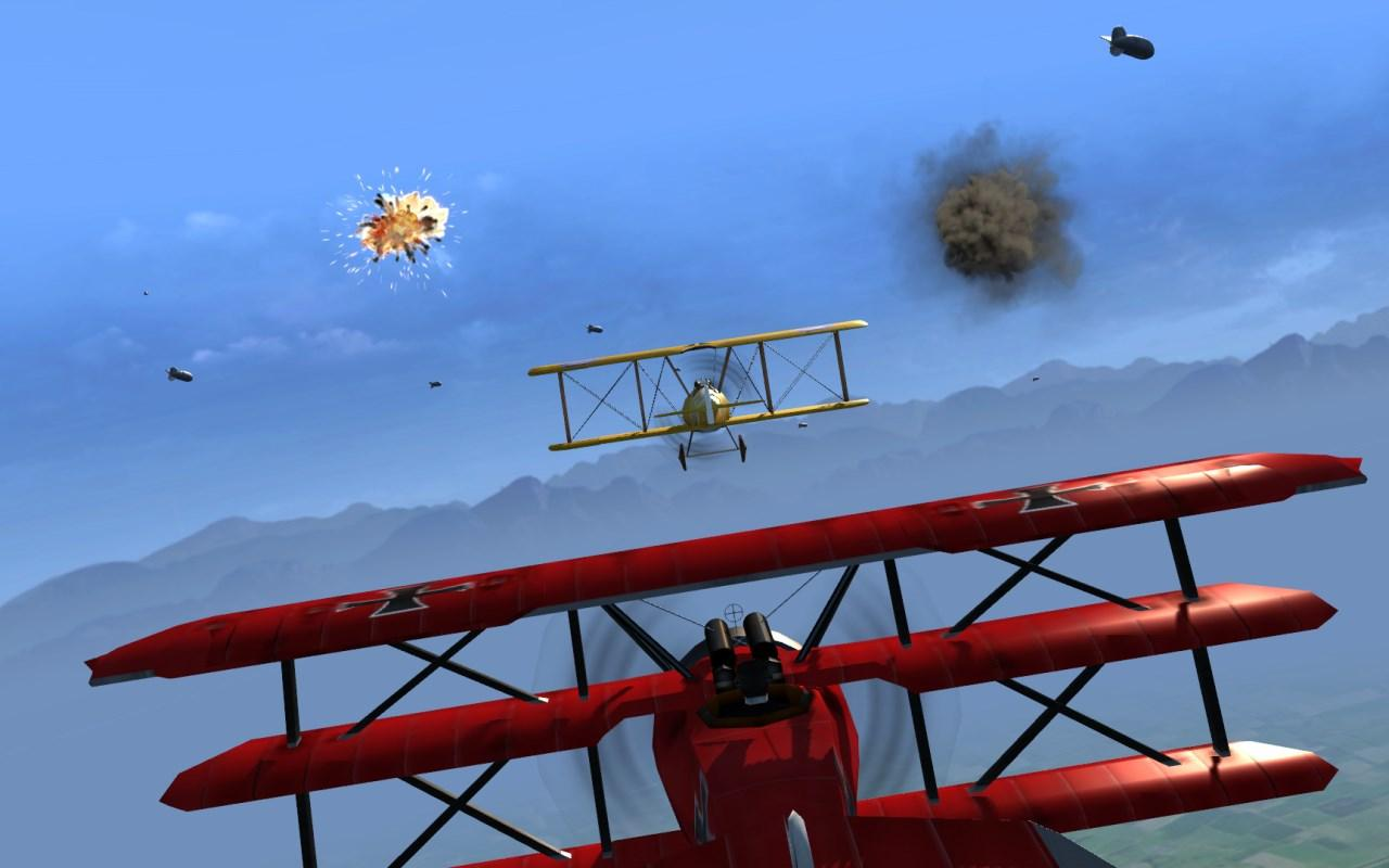 Cinemaware's Wings- screenshot