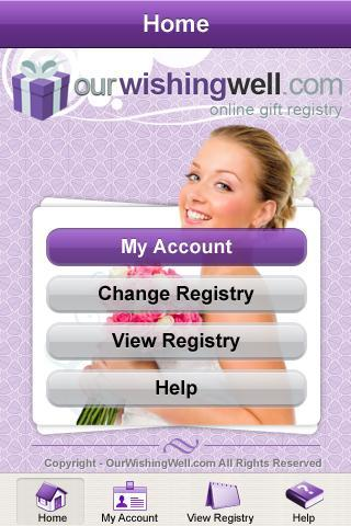 OurWishingWell Gifts Registry