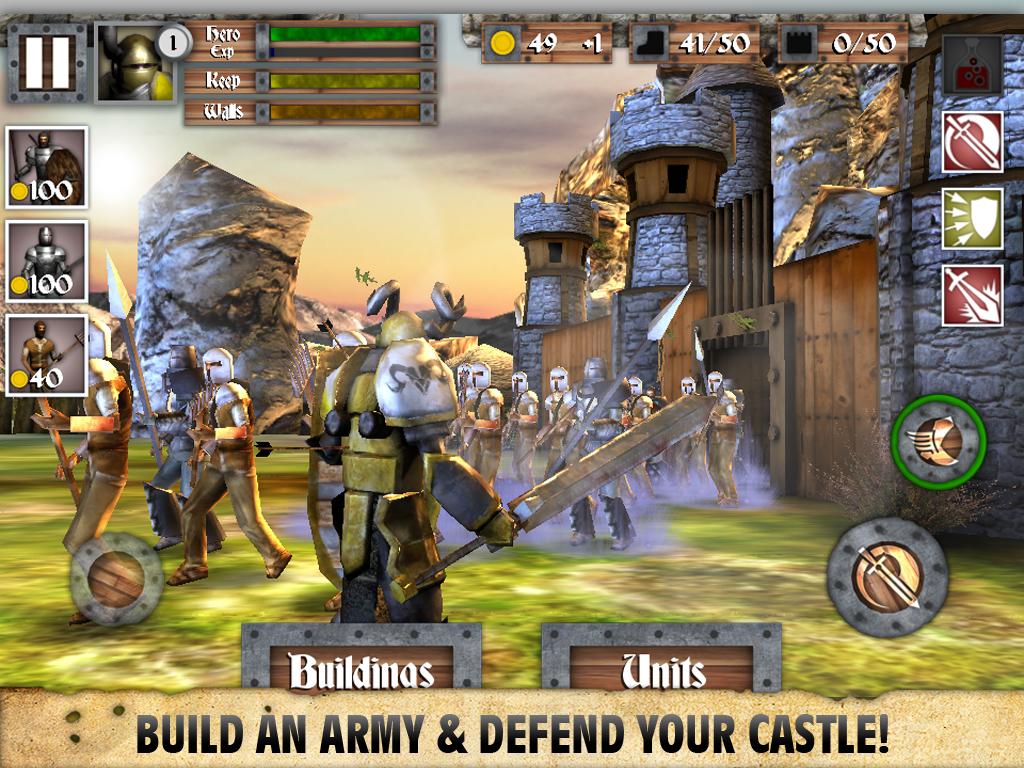 Heroes and Castles screenshot #11