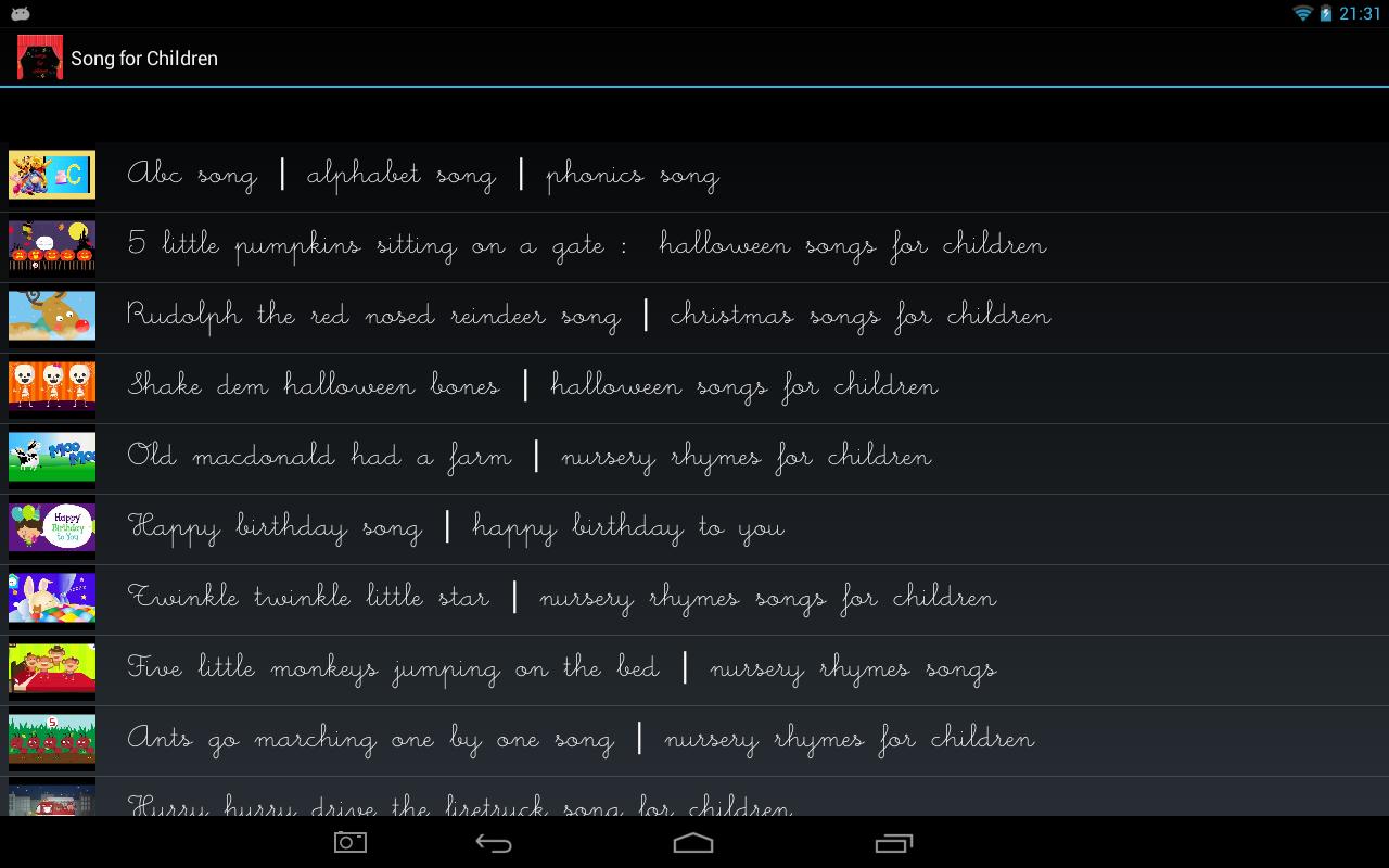 Songs-for-Children 6