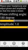 Screenshot of Noise Canceller