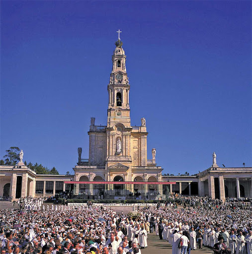 Shrine-Fatima-Portugal - The Shrine of Our Lady at Fatima, Portugal.