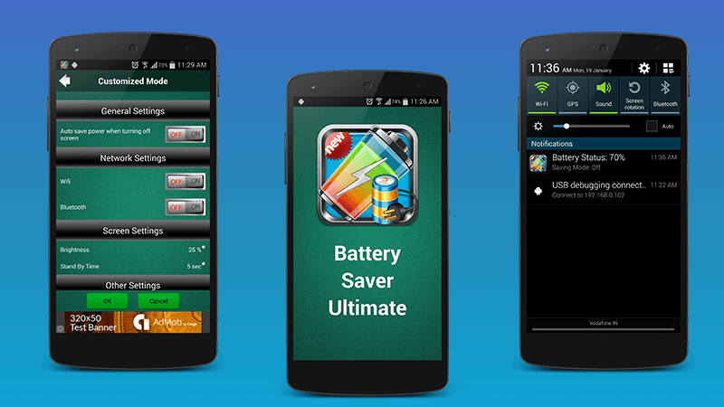 Battery Saver 2017- screenshot