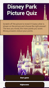 Disney Park Picture Quiz