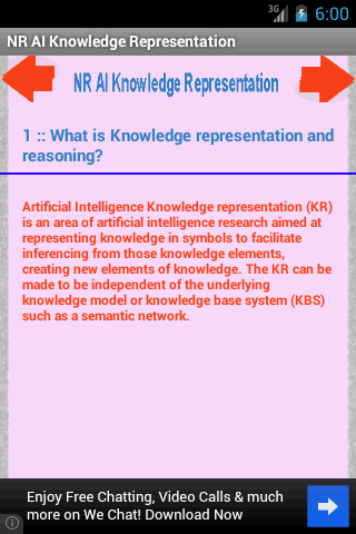 NR AI Knowledge Representation