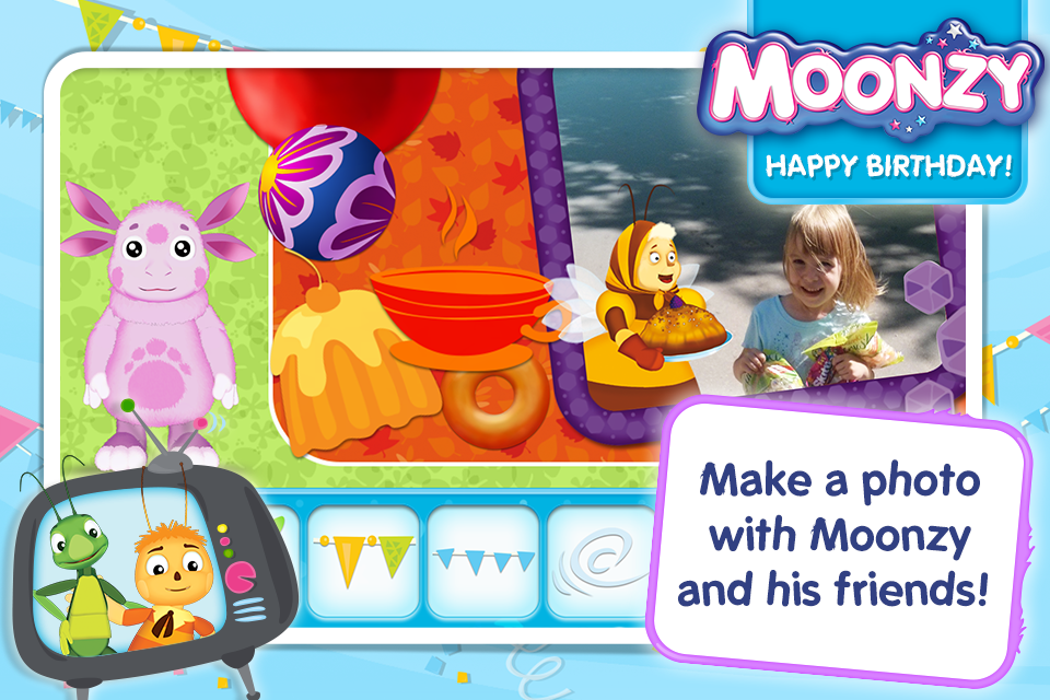 Moonzy. Happy Birthday! (demo)- screenshot