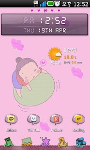 Girl's Dream Go launcher theme
