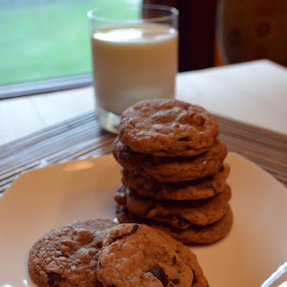 Brown Butter Chocolate Chip and Pecan Cookies with Fleur de Sel