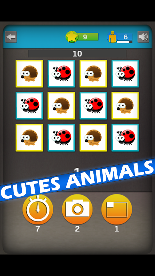 Animals Memory Rush - screenshot