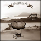 Steampunk Airships Wallpaper