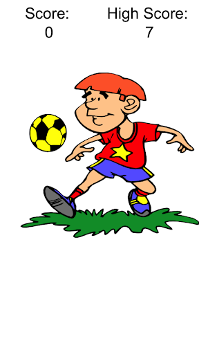Juggle the Soccer Ball
