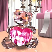Crystal Bear LiveWall& Clock__