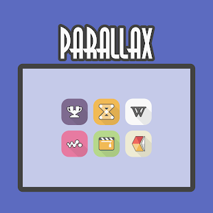 Parallax - Icon Pack Screenshot