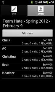 Softball Stats Pro - screenshot thumbnail