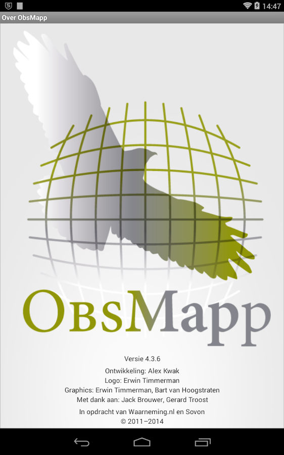 ObsMapp - screenshot