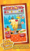 Screenshot of Ice Cream Shake Maker Salon