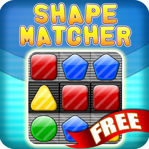 Shape Matcher Free Match 3 LOGO-APP點子