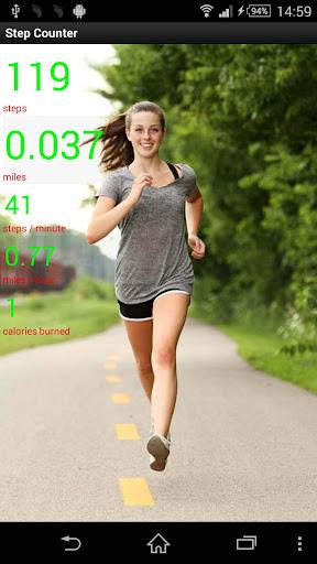 Step Counter Run Walk