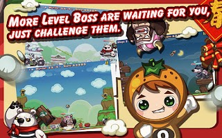Screenshot of Fruit Heroes