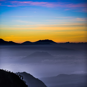 Misty in Bromo by Alexander Nainggolan - Landscapes Mountains & Hills ( mountain, indonesia, bromo, morning, misty,  )