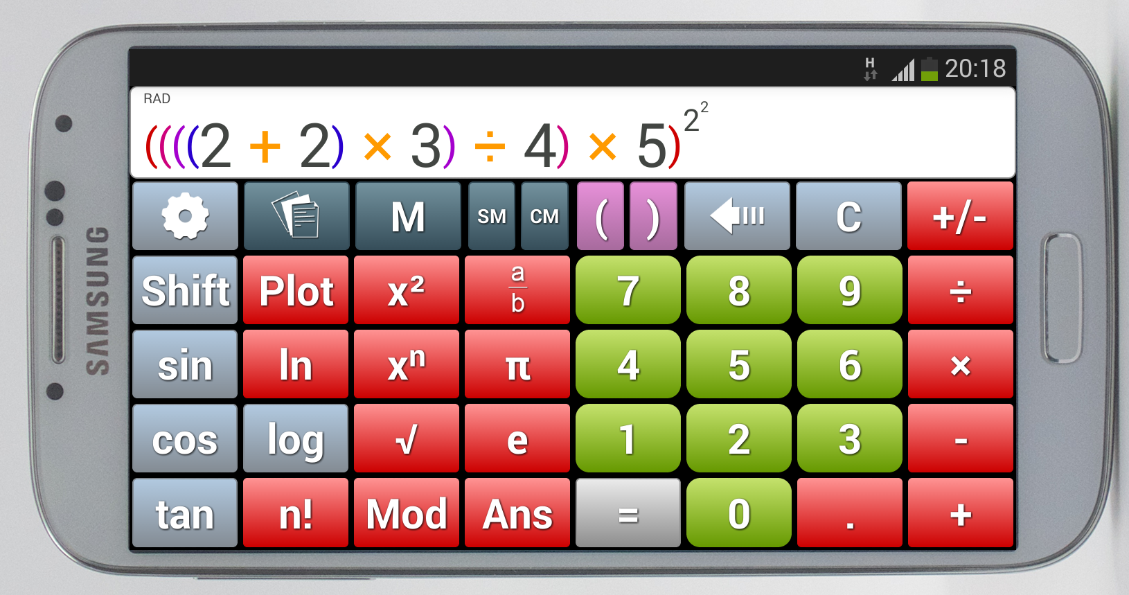 King Calculator - screenshot