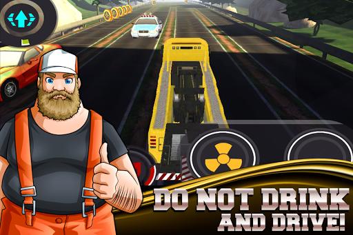 Trucker Joe 3D Drunk Driving