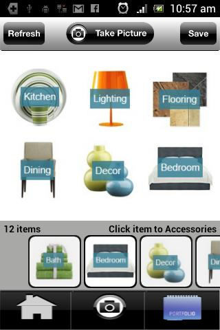 Interior design mock up app for android for Interior design application for pc