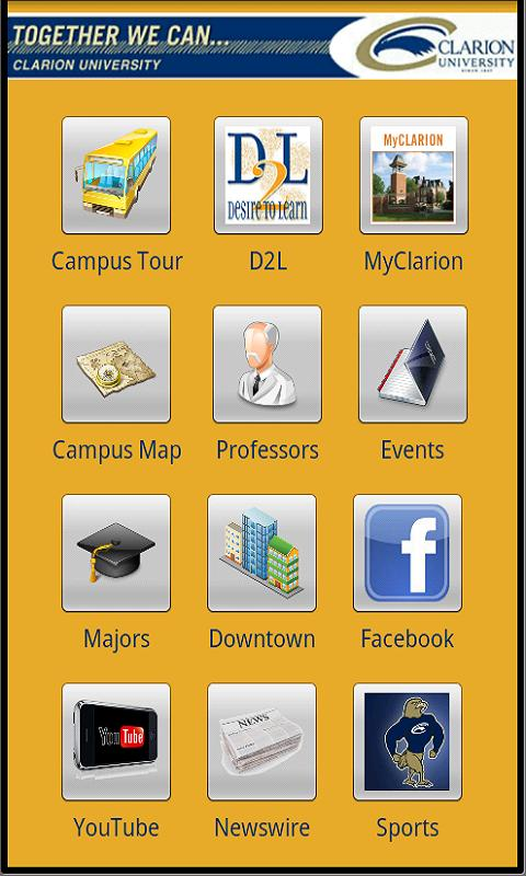 Clarion University Virt. Tour- screenshot