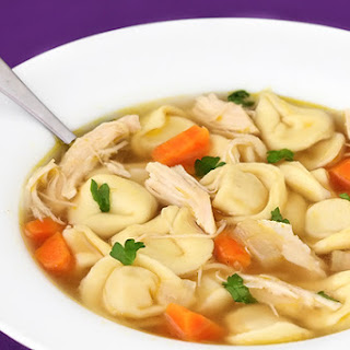 Easy Chicken Tortellini Soup