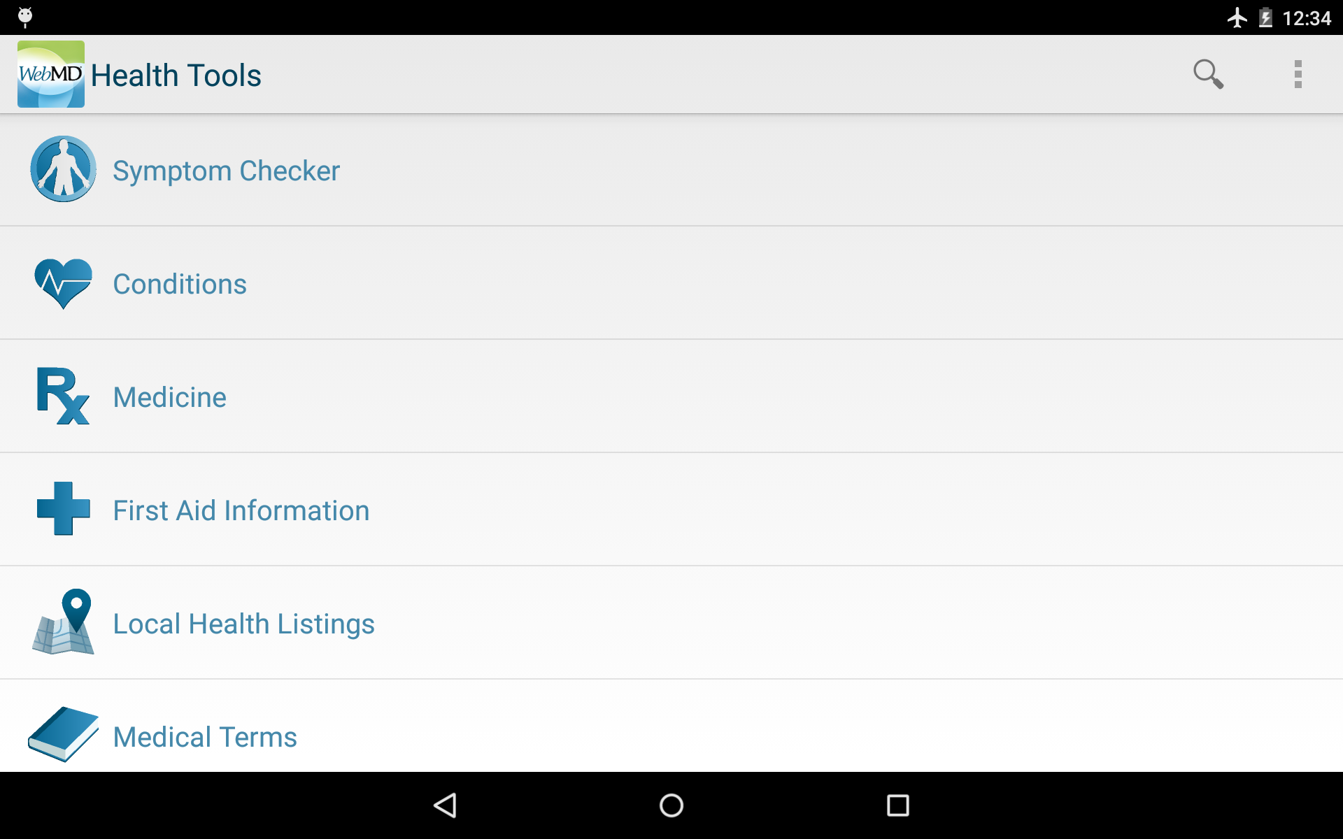 WebMD for Android screenshot #10