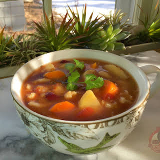 Root Vegetable Soup.