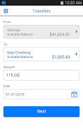Screenshot of Bellco Mobile Banking