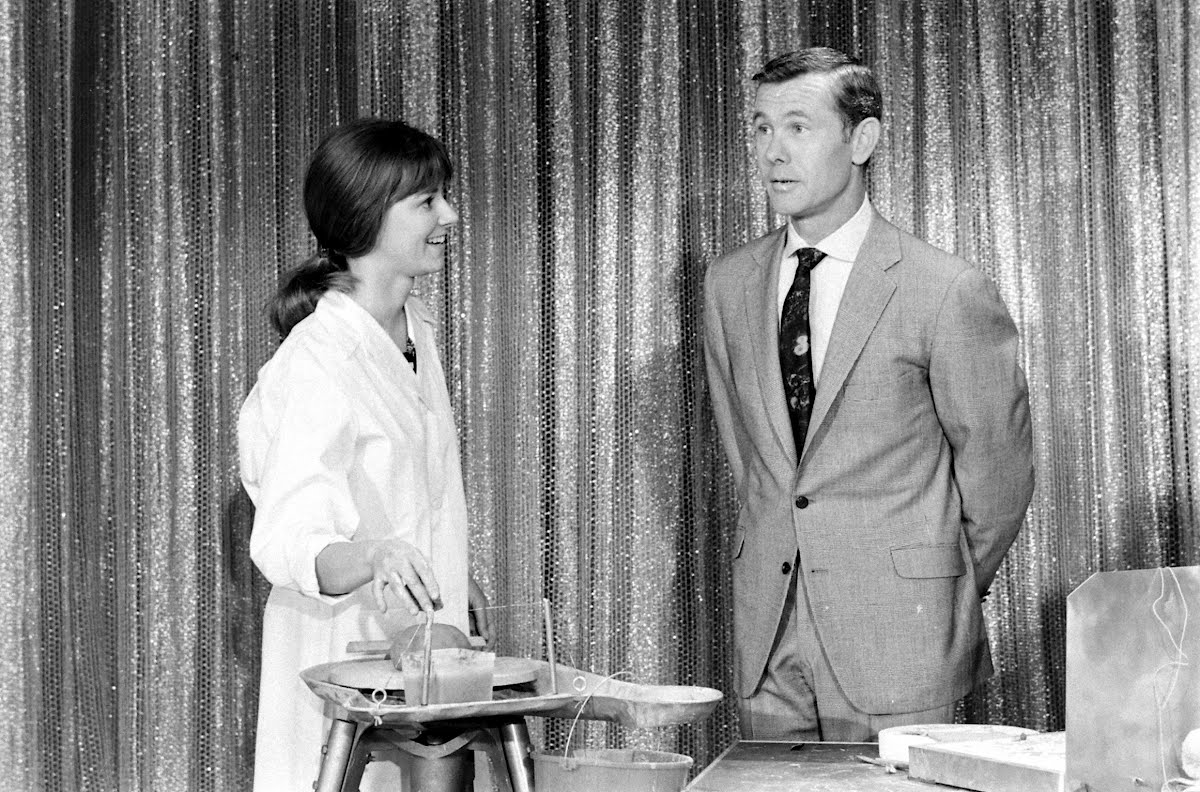 Mery Griffith And Johnny Carson