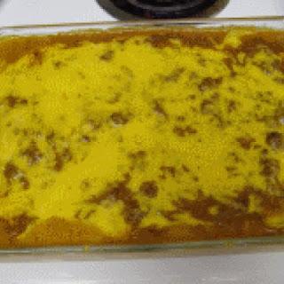 Creamy Beef Enchilada Casserole