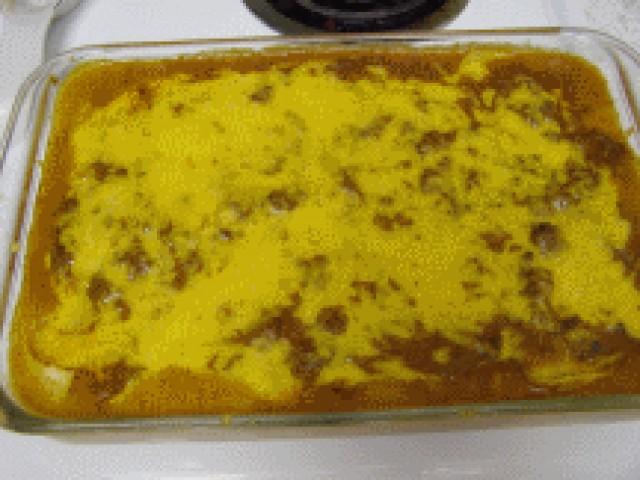 Creamy Beef Enchilada Casserole Recipe